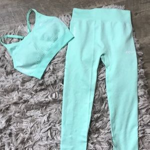 Worn once - echt seamless matching set in small!